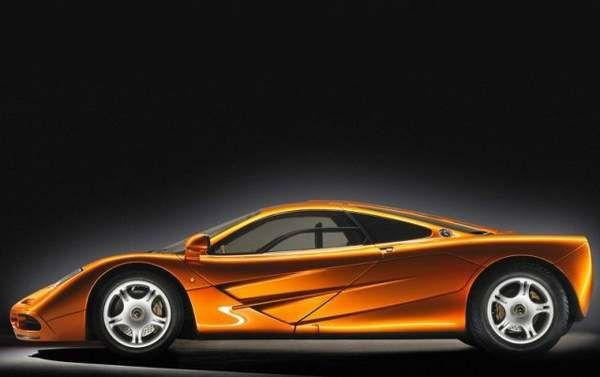 1993 McLaren F1 Aerodynamics Side - McLaren reveals the P1 - 1993-McLaren-F1-Aerodynamics-Side