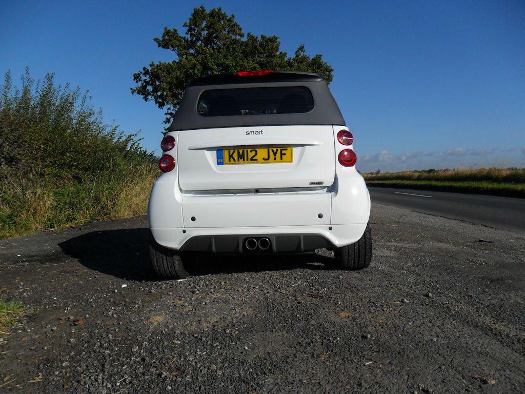 SAM 4590 - Smart fortwo cabrio BRABUS Review – The fast smart? - SAM_4590