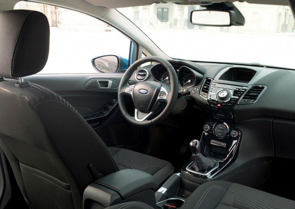 New Ford Fiesta Interior (1)