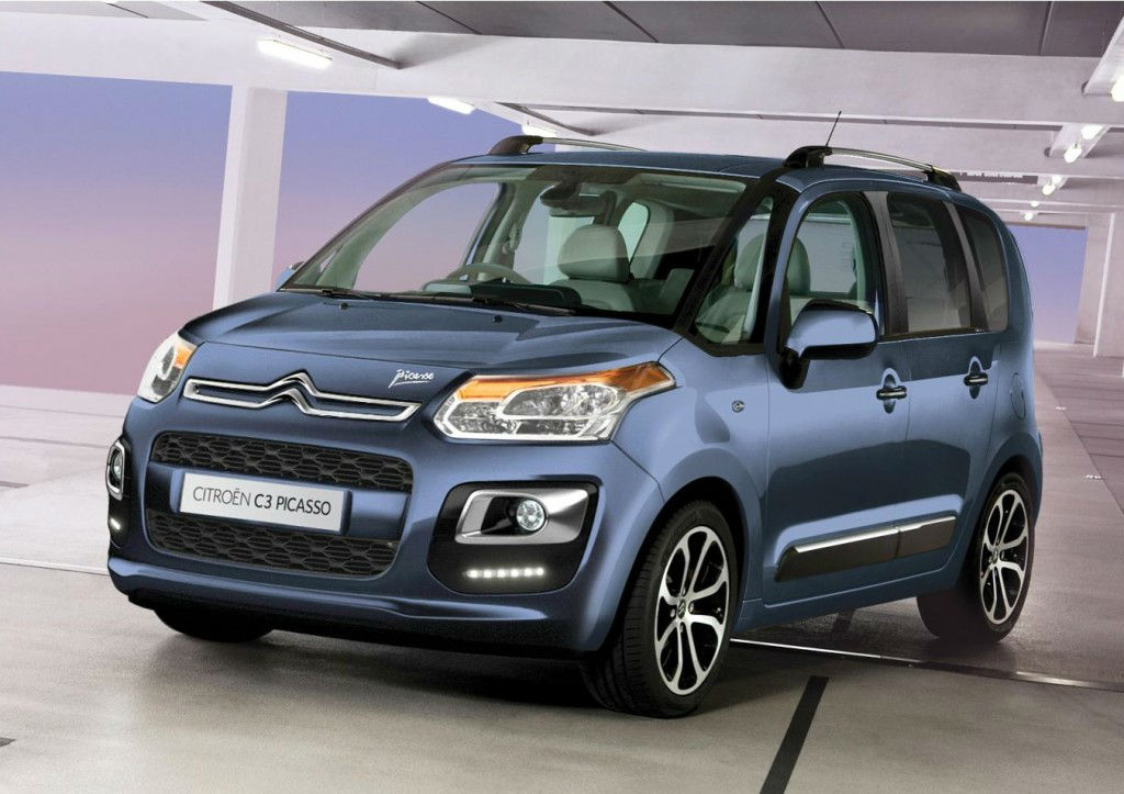 2013 Citroen C3 Picasso Gets Upgrades Carwitter