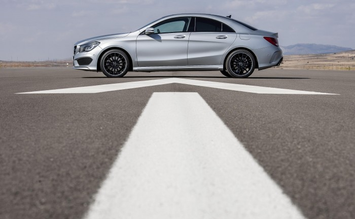 12C1198 079mercedescla 700x432 - Mercedes CLA coupé announced - Mercedes CLA coupé announced