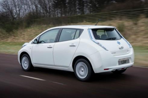 2013 Nissan Leaf Rear