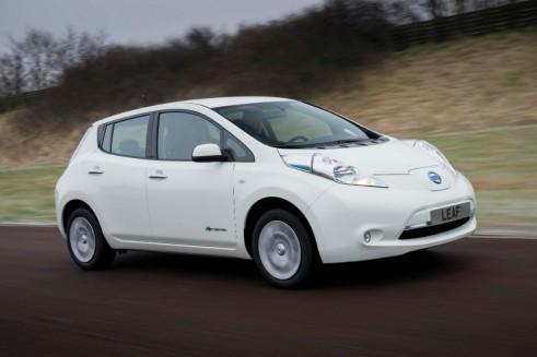2013 Nissan Leaf Side