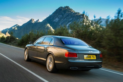 Bentley Flying Spur Back 491x327 - New Bentley Flying Spur - New Bentley Flying Spur