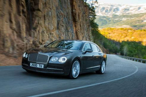 Bentley Flying Spur Front 491x327 - New Bentley Flying Spur - New Bentley Flying Spur