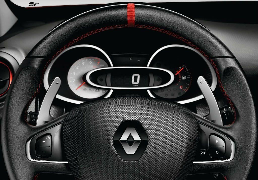 Clio RenaultSport 200 Turbo Dials - Clio Renaultsport 200 Turbo details revealed - Clio RenaultSport 200 Turbo Dials