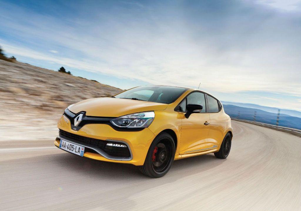 Clio RenaultSport 200 Turbo Front - Clio Renaultsport 200 Turbo details revealed - Clio RenaultSport 200 Turbo Front