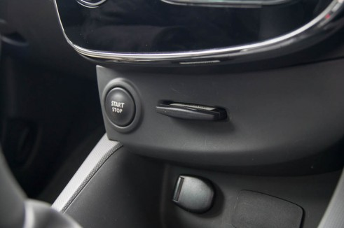 2013 Renault Clio Start Button