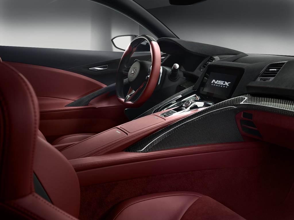 Honda NSX Concept Interior