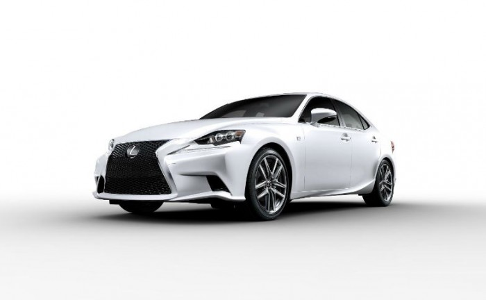 Lexus IS White 700x432 - Lexus IS Price announced - Lexus IS Price announced