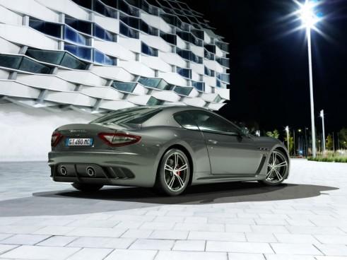 Maserati GranTurismo MC Stradale Four Seater Rear