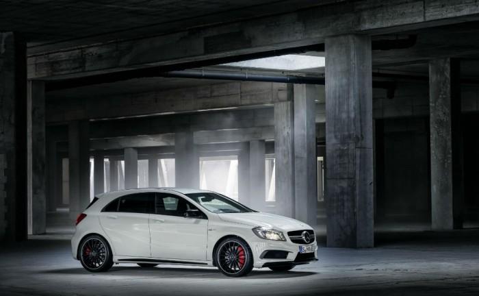 Meredes A45 AMG Side w1024 700x432 - Mercedes A45 AMG announced - Mercedes A45 AMG announced