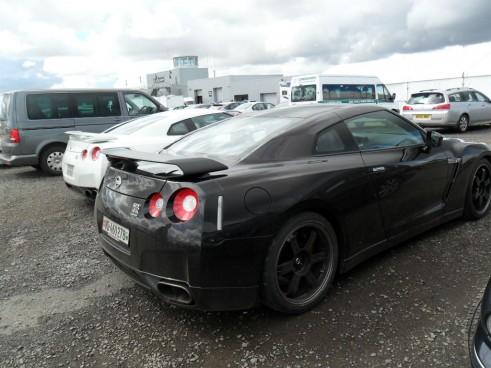 Nissan GTR Spec V Side