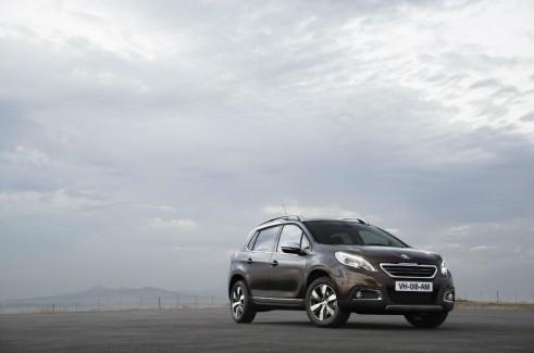 Peugeot 2008 Front