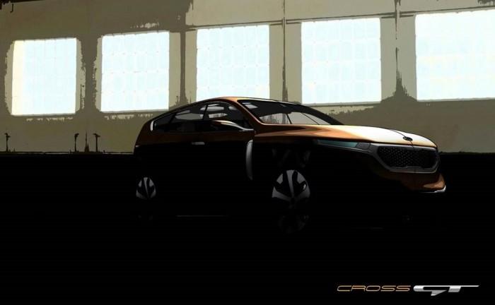 RESkia cross GT 700x432 - Kia Cross GT Concept to get Chicago unveiling - Kia Cross GT Concept to get Chicago unveiling
