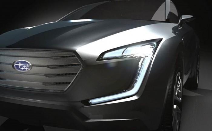 Subaru VIZIV 700x432 - Subaru Concept crossover to appear at Geneva - Subaru Concept crossover to appear at Geneva