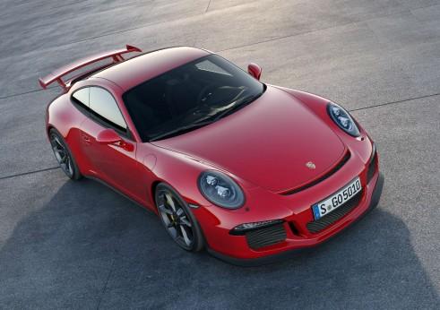 2013 Porsche 911 GT3 Front