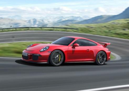 2013 Porsche 911 GT3 Side