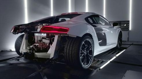 Audi R8 V10 Plus Rear 2