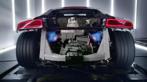 Audi R8 V10 Plus Rear 491x275 - Audi R8 V10 Competition Revealed Ahead of LA Debut - Audi R8 V10 Competition Revealed Ahead of LA Debut