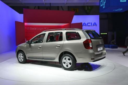 Dacia Logan Rear