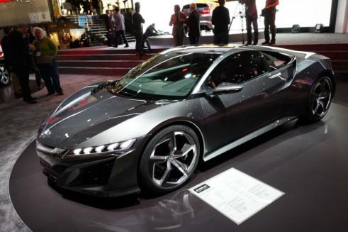 Honda NSX Concept Front