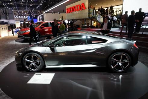 Honda NSX Concept Side