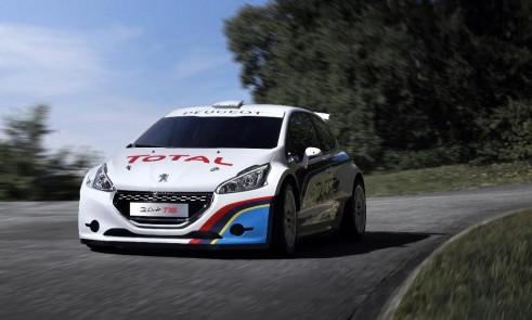 Peugeot Sport 208 T16 Front