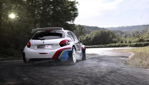 Peugeot Sport 208 T16 Rear