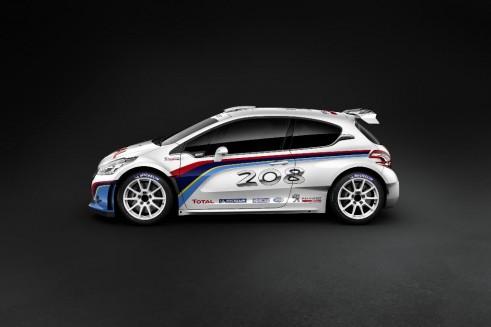 Peugeot Sport 208 T16 Side