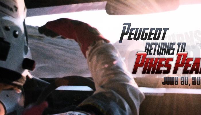 Peugeot pikes peak 2013 700x403 - Peugeot returns to Pikes Peak in 2013 - Peugeot returns to Pikes Peak in 2013