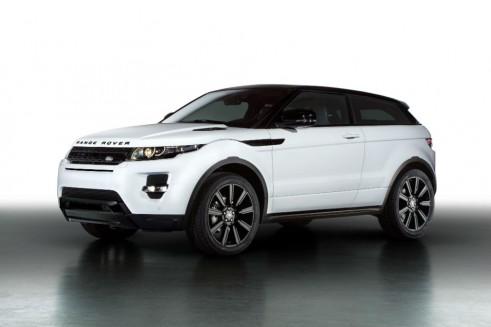 Range Rover Evoque Black Design Pack Front