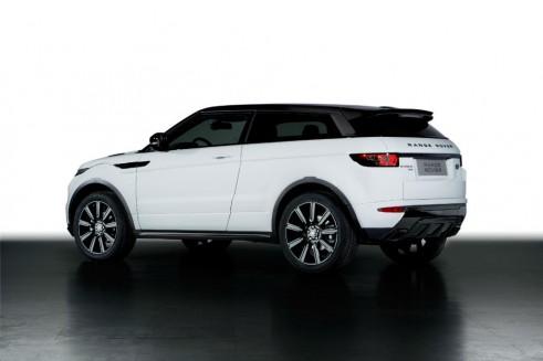 Range Rover Evoque Black Design Pack Rear