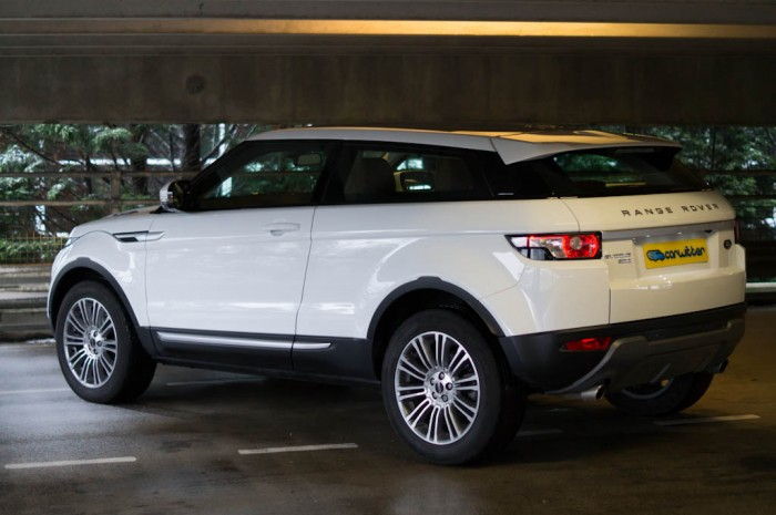 Range Rover Evoque Coupe Angle Side 700x465 - Range Rover Evoque Review – The perfect on roader? - Range Rover Evoque Review – The perfect on roader?