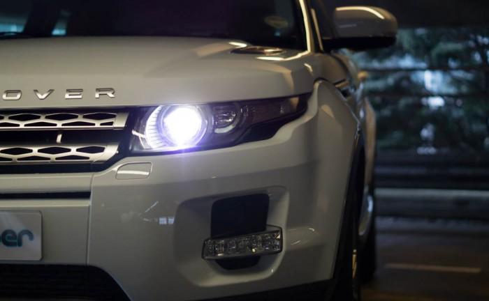 Range Rover Evoque Coupe Headlight 700x432 - Xenon Bulbs – Philips D3S vs Lumro D3S - Xenon Bulbs – Philips D3S vs Lumro D3S