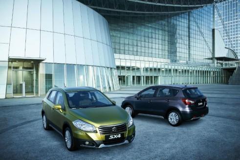 Suzuki_SX4_Crossover Front Rear