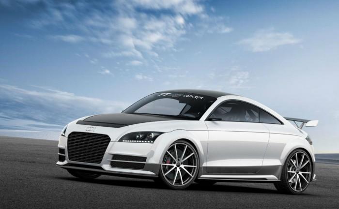Audi TT Ultra Quattro Concept Front 700x432 - Audi TT Ultra Quattro Concept - Audi TT Ultra Quattro Concept