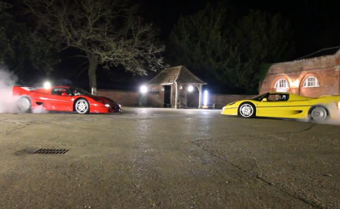 Ferrari F50 Tug Of War TaxTheRich100 700x432 - Ferrari F50 Showdown - Ferrari F50 Showdown