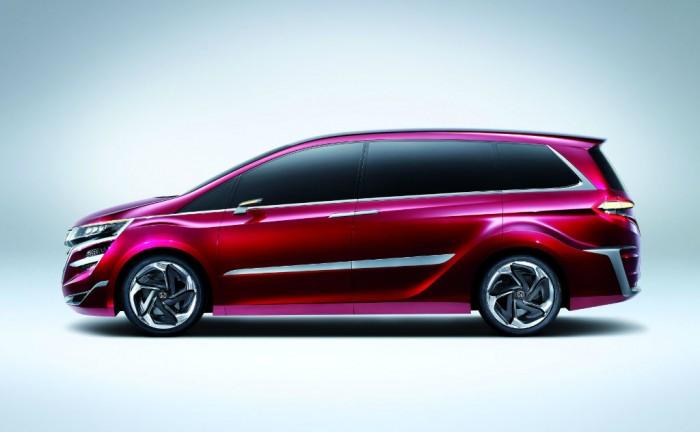 Honda Concept M Side 700x432 - Honda Concept M - Honda Concept M