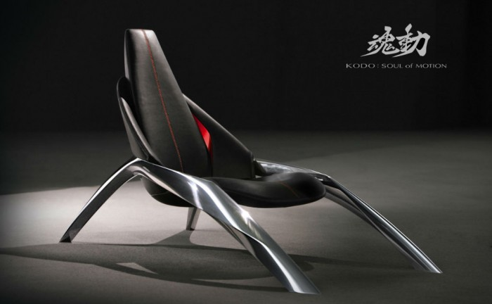 KODO chair 02 700x432 - Mazda Kodo Design at Milan - Mazda Kodo Design at Milan