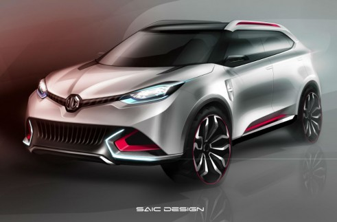MG CS Concept Front