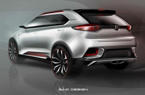MG CS Concept Rear