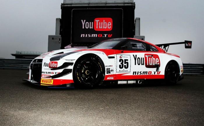 Nismo Nissan GTR GT3 YouTube 700x432 - Nismo TV is live - Nismo TV is live