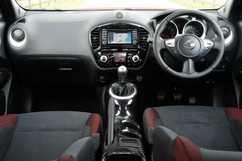 Nissan Juke NTec Interior