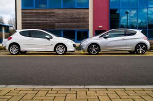 Peugeot 207 Vs Peugeot 208 Nose To Nose 300x199 - Peugeot 207 THP vs 208 THP - Peugeot 207 THP vs 208 THP