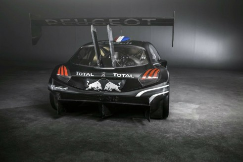 Peugeot 208 T16 Pikes Peak Car Rear