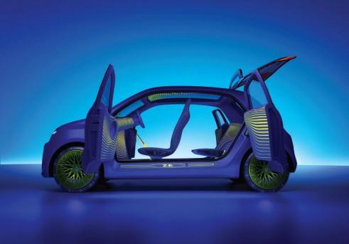 Renault TwinZ Interior