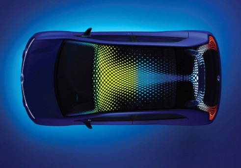 Renault TwinZ LED Roof