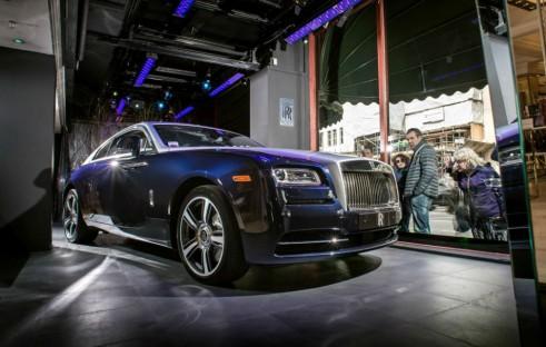 Rolls Royce Wraith Harrods Front