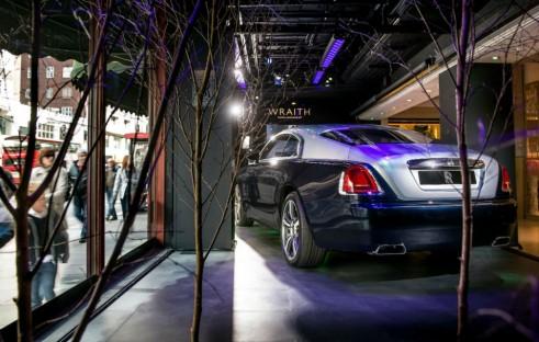 Rolls Royce Wraith Harrods Rear